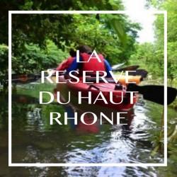 La réserve du haut Rhône...