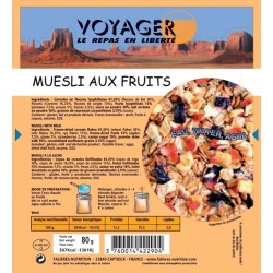 Muesli aux Fruits 80g -...