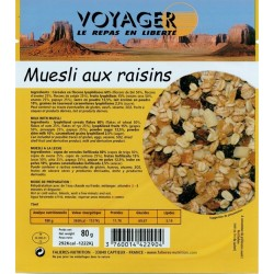 Muesli aux Raisins 80g -...